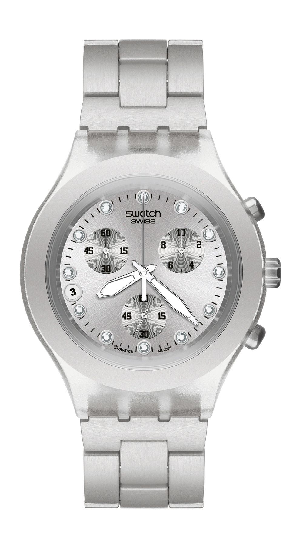 f01dda5d300 Swatch FULL-BLOODED SILVER - SVCK4038G   Boutique dos Relógios